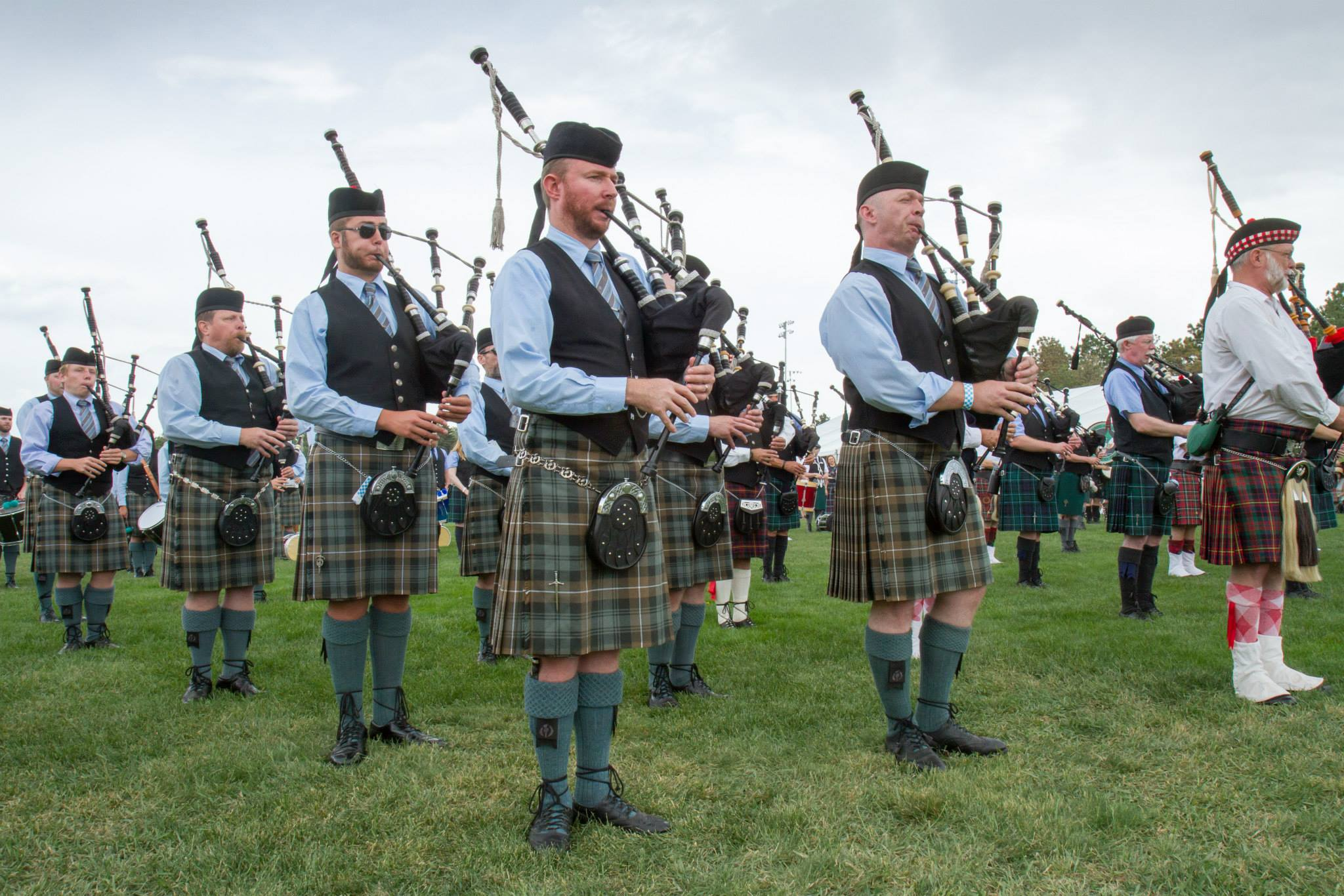 5)	Check Out the Pipes & Drums. The ancient, stirring and glorious sounds of highland bagpipes and drums will fill the air throughout the weekend. It's a sight and sound not to be missed. The pipe and drum competition at the Pikes Peak Celtic Festival is a Western United States Pipe Band Association sanctioned event, and the full schedule of competitions can be found here on our site.